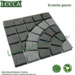 Chinese light gray granite paver