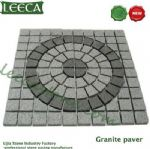 Chinese granite circle paver mat
