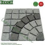 Chinese light/dark gray granite paver