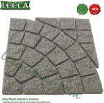 Chinese granite circle pattern paver mat