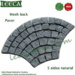 Chinese granite paver, mesh back, natural stone