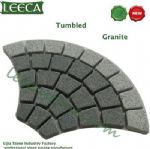 Chinese tumbled granite paving mat