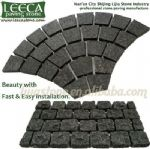 Fan paving stone,cobblestone mats,paver supplier
