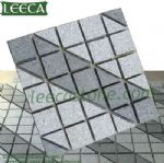 Dark Light granite paving stone, plaza block