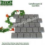 Light grey granite garden block landscape natural stone