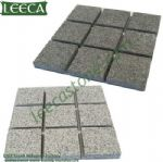 Dark light grey Chinese granite, Belgium block