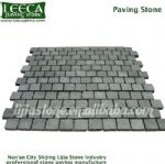 Black basalt paving stone for driveway, Dammam paving