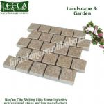 Chinese yellow granite landscape garden decor