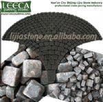 Dark grey paver,paver driveway,mesh stone