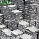 Outdoor stone tile,driveway pavement,street stone LEECA stones Qatar