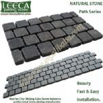 Dark stone,pavement stone,driveway paving