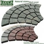 Porphyry stone,colour stone paving,garden paths