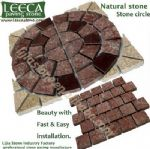 Red porphyry,stone by nature,patio paver