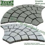 Pavement,paving stone street,fan cobble stone