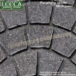 Fan cobble stone,cobble mats,outdoor stone paver