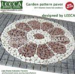 Garden stone paver,landscaping,plaza stone LEECA stone Riyadh