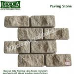 Beige granite interlocking Chinese yellow stone