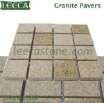 Crema marfil granite pavers Chinese yellow stone
