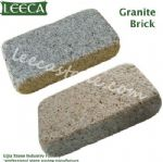 Granite bricks stone paving kerbstone pavers lowes