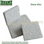 Milk white stone tiles patio paver stone outdoor block