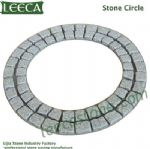 G603 light grey granite stone circle