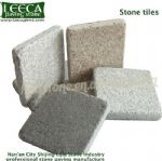 Patio paver stone tiles flamed granite, LEECA stone Oman