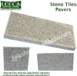 Saw cut stone tiles paver patio flagstone