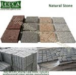 Different sizes of granite stone tiles natural stone