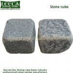 Diamond grey cobblestone cubic stone