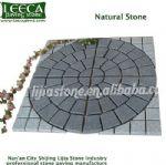Ambienti circle centre China dark grey granite