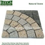 Granite cobblestone pavers plaza decor mats, Dammam paving