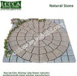 Yellow G682 Light grey G603 natural paving stone