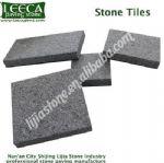 Chinese dark grey granite stone tiles