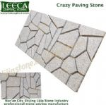 Random pattern block crazy paving stone Saudi Arabia
