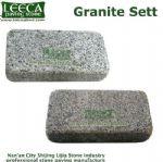 Granite setts tumbled block stepping tiles