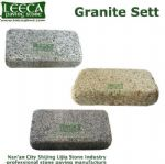 Belgian block granite setts paving tiles