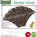 Garden paver design fan mesh cobbles, Muscat pavings