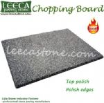 Gray granite chopping board stone worktop