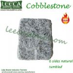 Light grey granite G603 Granite cobblestone