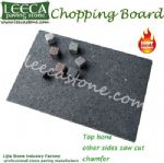 Kitchen accessary granite chopping block