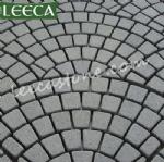 Carpet paver driveway stone mat