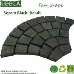 Grill lava stone  basalt cubes mesh