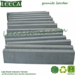 Granite border bridge stone curb