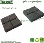 Outdoor paver granite cobble setts