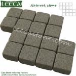 Interlock cobbles mat stone carpet