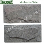 Mushroom slate wall stone decor