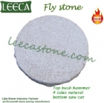 Fly stone bush hammered granite