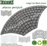 Large fan mesh paver stone mats