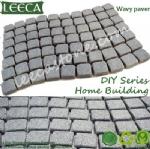 Wavy carpet paver back mesh cobbles