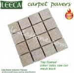 Natural stone cheap cobbles mat
